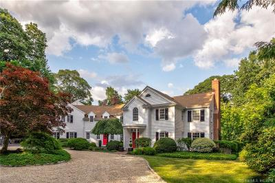 New Canaan Single Family Home For Sale: 41 Rippowam Road