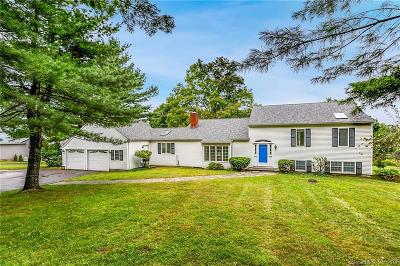New Haven County Single Family Home For Sale: 377 Three Mile Hill Road