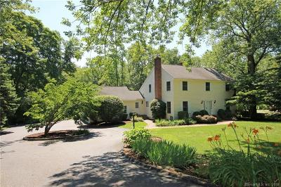 Ridgefield Single Family Home For Sale: 243 West Lane