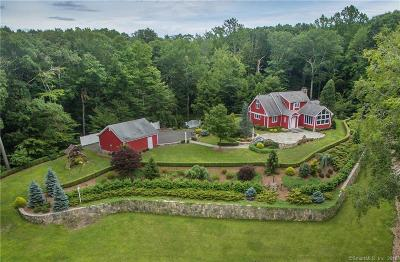 Ridgefield Single Family Home For Sale: 193 Neds Mountain Road