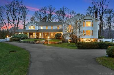 New Canaan Single Family Home For Sale: 1 Lee Lane