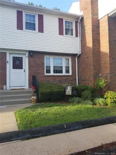 Suffield Condo/Townhouse For Sale: 59 Brandywine Lane #59