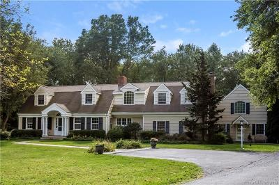 Darien Single Family Home For Sale: 16 Stonewall Lane
