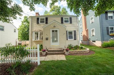 Wethersfield Single Family Home For Sale: 63 Dix Road