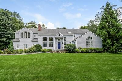 New Canaan Single Family Home For Sale: 25 Whiffle Tree Lane