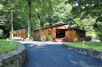 Ridgefield Single Family Home For Sale: 346 Bennetts Farm Road