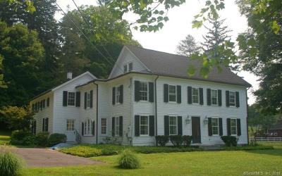 Southbury Single Family Home For Sale: 576 Main Street North