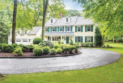 New Canaan Single Family Home For Sale: 66 White Oak Shade Road