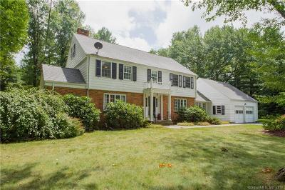 West Hartford Single Family Home For Sale: 55 Old Oak Road