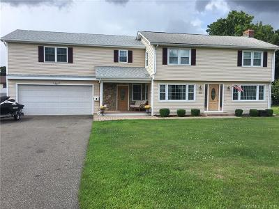 Newington Single Family Home For Sale: 112 Eagle Drive