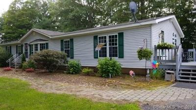 Eastford Single Family Home For Sale: 348 Old Colony Road