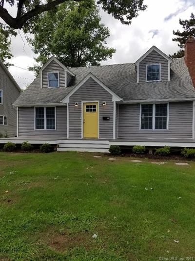 West Hartford Single Family Home For Sale: 33 Sylvan Avenue