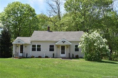 Middlefield Single Family Home For Sale: 277 Jackson Hill Road