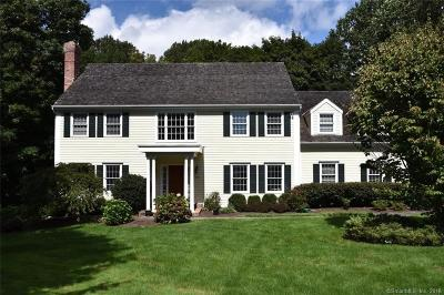 New Canaan Single Family Home For Sale: 150 Old Studio Road