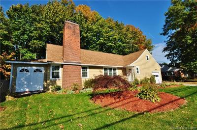 West Hartford Single Family Home For Sale: 150 Haynes Road