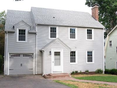 West Hartford Single Family Home For Sale: 154 Clifton Avenue