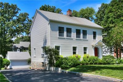 Darien Single Family Home For Sale: 11 Oak Park Avenue