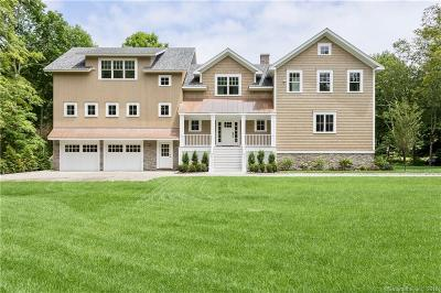 New Canaan Single Family Home For Sale: 6 Valley Lane