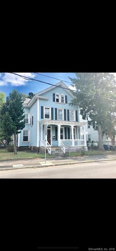 New Haven Multi Family Home For Sale: 492 Lombard Street