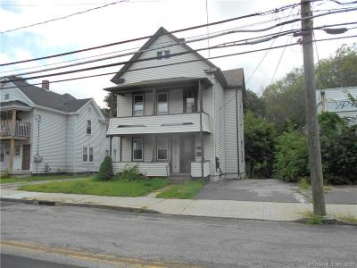 Putnam Multi Family Home For Sale: 58 Woodstock Avenue