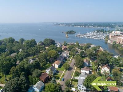 Stamford Single Family Home For Sale: 36 Ralph Street