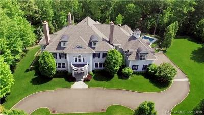 New Canaan Single Family Home For Sale: 54 Welles Lane
