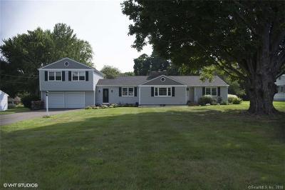 Hamden Single Family Home For Sale: 1175 Dunbar Hill Road
