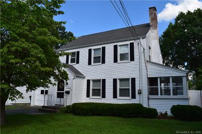 West Hartford Single Family Home For Sale: 92 Grove Street