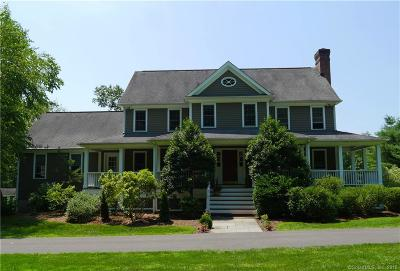 Ridgefield Single Family Home For Sale: 17 Spring Valley Road