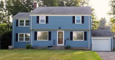 West Hartford Single Family Home For Sale: 30 Cherryfield Drive
