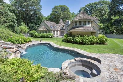 Darien Single Family Home For Sale: 72 Delafield Island Road