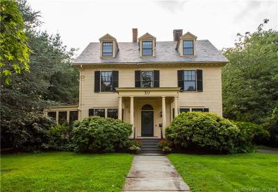West Hartford Single Family Home For Sale: 711 Prospect Avenue