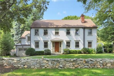 Greenwich Single Family Home For Sale: 119 Lockwood Road