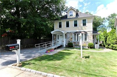 Stamford Single Family Home For Sale: 115 Mulberry Street