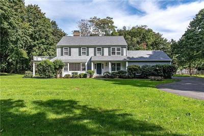 New Canaan Single Family Home For Sale: 176 White Oak Shade Road