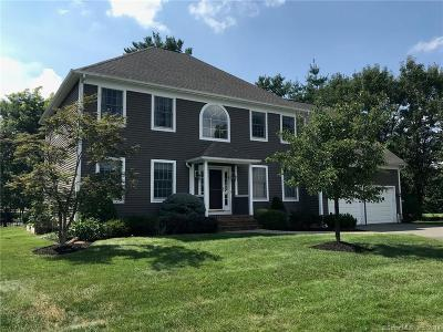 West Hartford Single Family Home For Sale: 11 Buckingham Lane