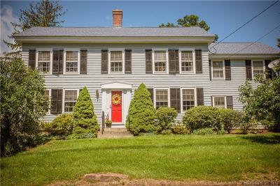 Branford Single Family Home For Sale: 186 Damascus Road
