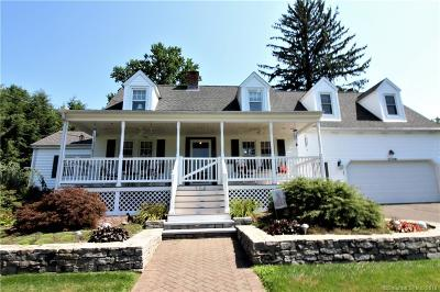 Wallingford Single Family Home For Sale: 156 Cheshire Road