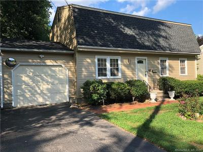 Wallingford Single Family Home For Sale: 62 Academy Street
