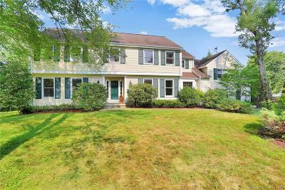 New Canaan Single Family Home For Sale: 351 Jelliff Mill Road