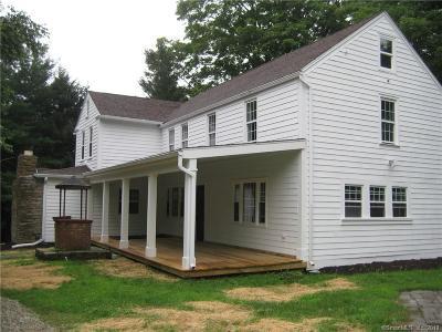Pomfret Single Family Home For Sale: 253 Mashamoquet Road