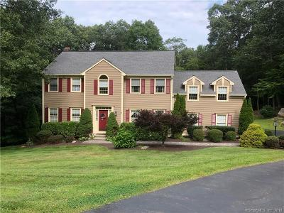 Southbury Single Family Home For Sale: 155 Cooper Hill Road