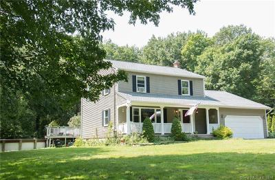 Wolcott Single Family Home For Sale: 689 Spindle Hill Road