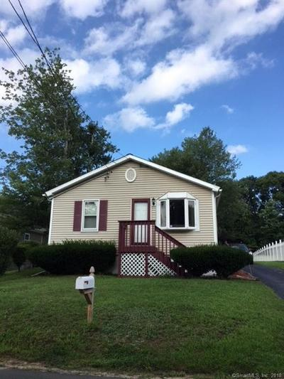 Wolcott CT Single Family Home For Sale: $154,900