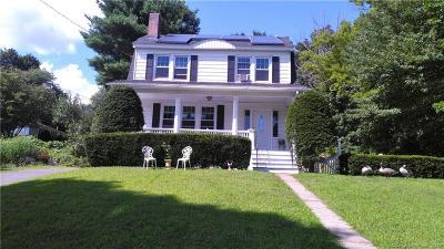 Waterbury Single Family Home For Sale: 1185 Meriden Road