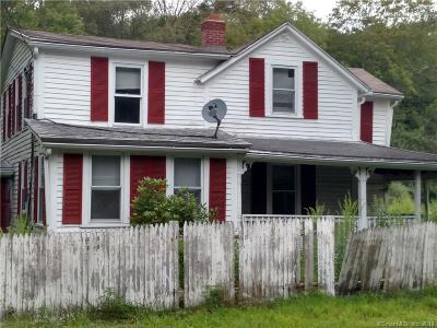 Tolland County, Windham County Single Family Home For Sale: 53 Lebanon Road
