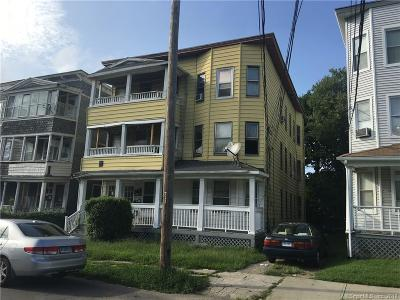 Bridgeport Multi Family Home For Sale: 343 Pearl Street