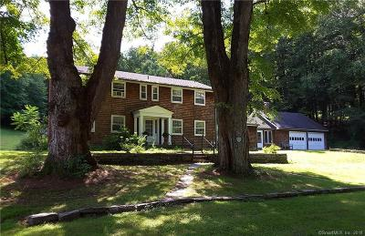 Barkhamsted Single Family Home For Sale: 19 Fancher Road