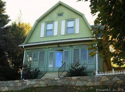 Waterbury Single Family Home For Sale: 813 Watertown Avenue