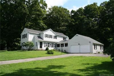 Weston Single Family Home For Sale: 127 Lyons Plain Road